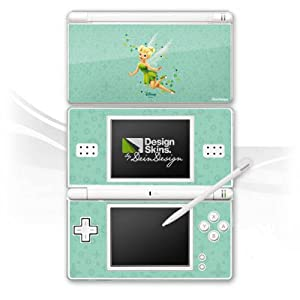 DeinDesign Skin kompatibel mit Nintendo DS Lite Folie Sticker Tinkerbell Offizielles Lizenzprodukt Disney