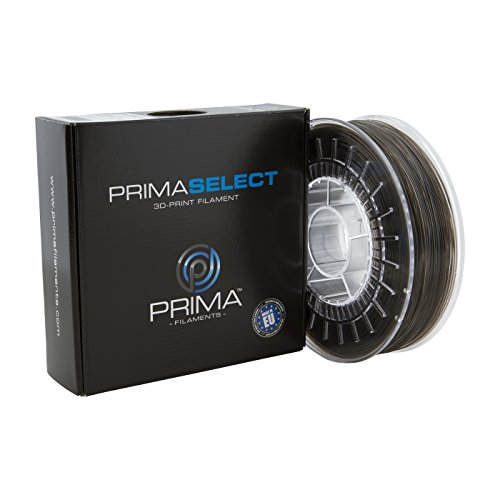 PrimaCreator PrimaSelect 3D Drucker Filament - PETG - 1,75 mm - 750 g - Transparent Schwarz -