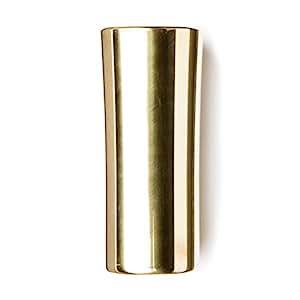 Dunlop 232 Bottleneck Large en laiton 20,5 x 24-25,5 x 63,5 mm