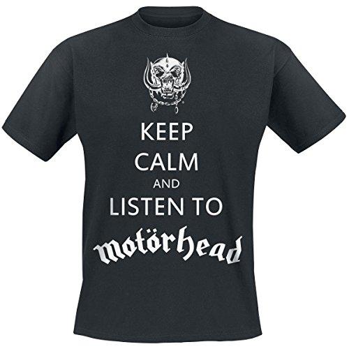Motörhead - Keep Calm T-Shirt Schwarz