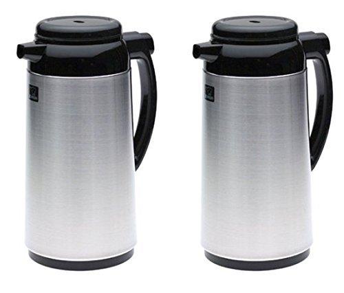 Zojirushi Premium Thermal 1-Liter Carafe, Brushed Stainless Steel - by Zojirushi