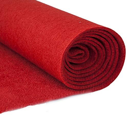 Red Carpet Runner - Gangläufer Für Hollywood- Und Weihnachtsfeierdekorationen, Runway Carpet, Für Partydekorationen Im Innen- Oder Außenbereich (Size : 1 * 20m)