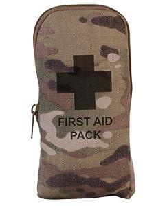 Kombat Petit Kit de premiers secours dans une pochette de rangement Camouflage