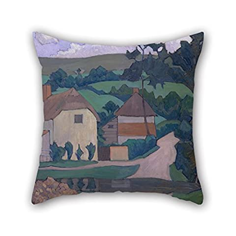 Beautifulseason 16 X 16 Inches / 40 By 40 Cm Oil Painting Robert Polhill Bevan - The Ford Pillow Covers,each Side Is Fit For Girls,bench,gril Friend,play Room,coffee