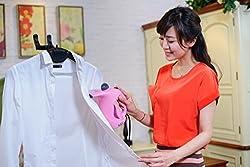 Cierie Mini Portable Electric Handheld Travel Garment Steamer (HandyGarmentSteamer15)