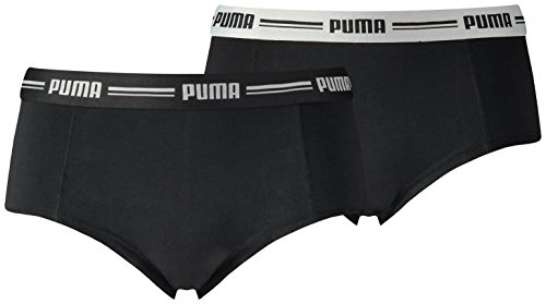 Puma - 5730100010 - Boxer 2er Pack - Frauen - Black (Schwarz) - M