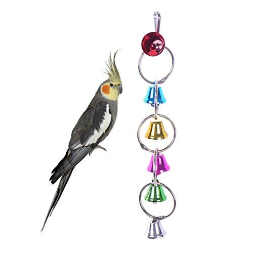 UEETEK-Pappagallo-giocattolo-uccelli-Masticare-giocattolo-uccelli-altalena-Scala