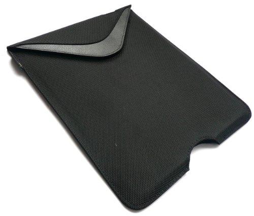 Case-Mate Schwarze Vertikale Nylon Pouch Case Tashe Hülle Sleeve Für Odys Iron 9.7-Zoll-Tablet