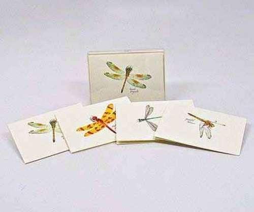 Dragonfly & Damselfly each Notecard Assortment II (4 each Damselfly of 2 styles) 74c9bf