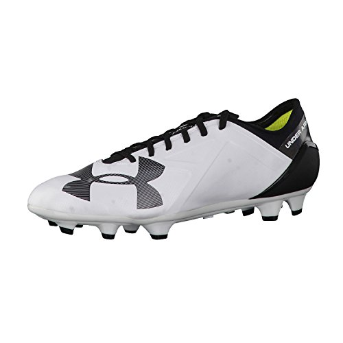 Base ball Under Armour Uomo Scarpe Spotlight BL FG 1272300 Bianco