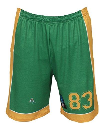 Bigsport Replica Flasche FIBA Eurocup Limoges CSP Außen Short Basketball Jungen M grün