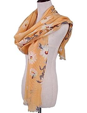 Manta Larga De Las Mujeres Del Mantón Elegante Suave Caliente Bufanda Invierno Otoño Impresión Cabo Envuelta Robó