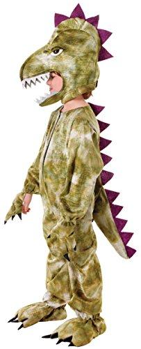 Kid T Rex Kostüm - Bristol Novelty CC275 Dinosaurier Kostüm, grün, 128 cm