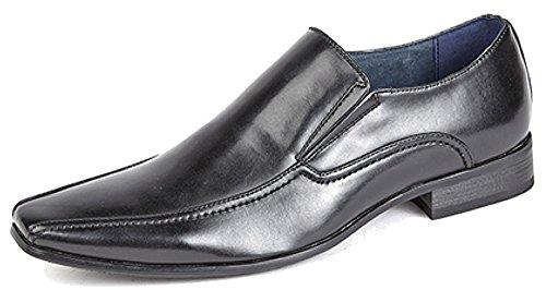Route 21 Pour des hommes Slip On Chaussure Noir 6 UK / 40 EU