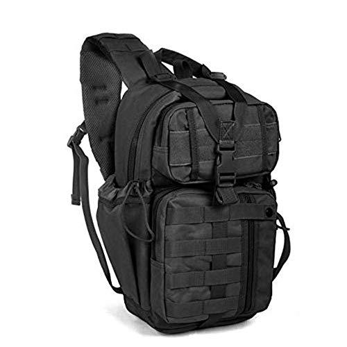hsy Outdoor Army Fan Taktische Tasche Im Freien wasserdichte Umhängetasche Transformers Rucksack Brusttasche Rucksack (Vertikalen Griff Taktisches Licht)