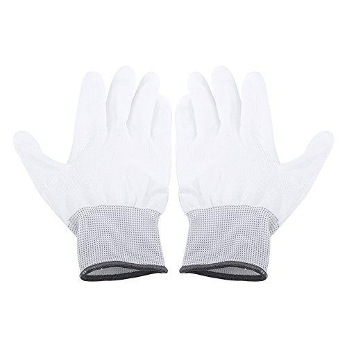 Isotoner Nylon-handschuhe (Antistatische Handschuhe aus Polyurethan, beschichtet mit Pu La Riparation Del Pc 1 Paar)