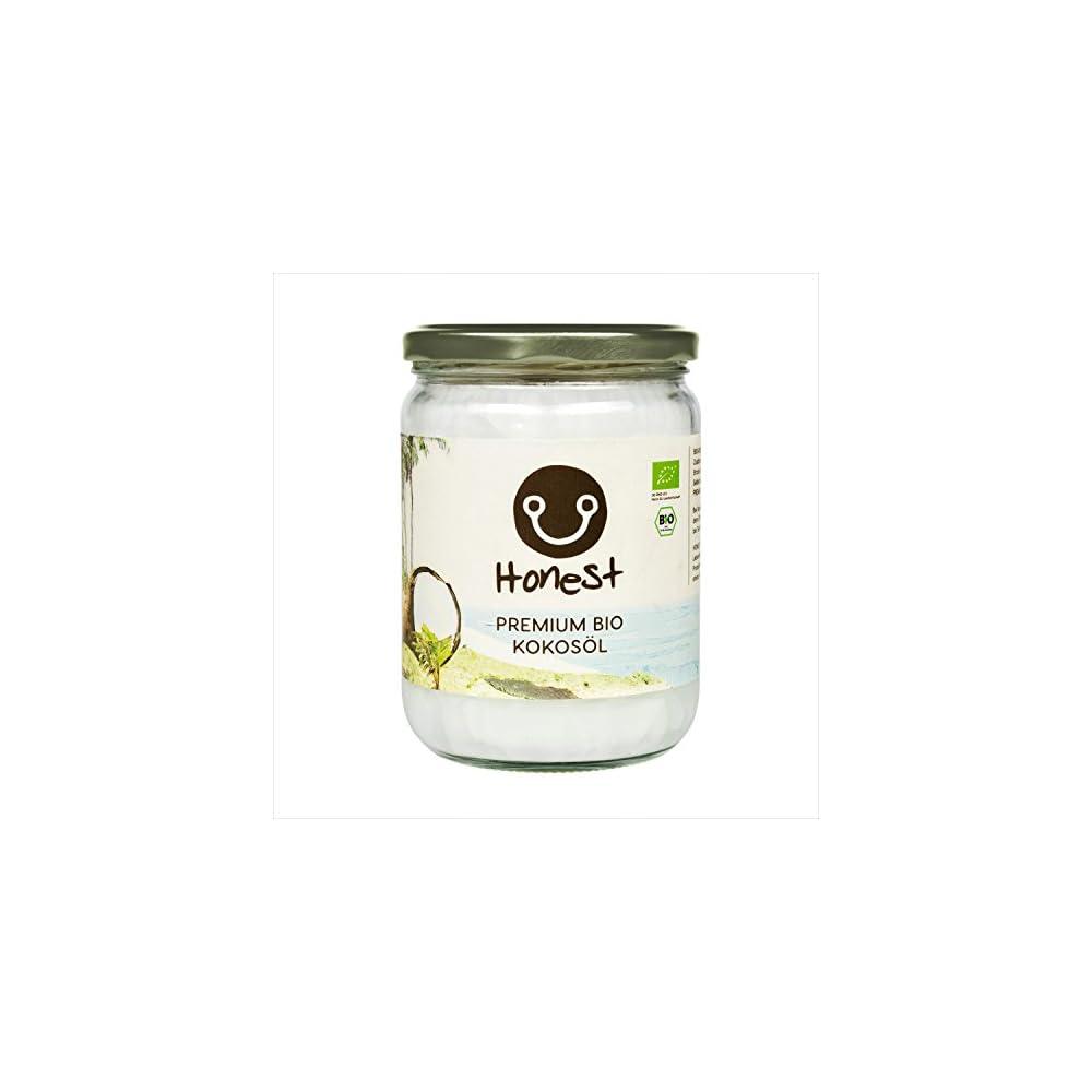 Honest Superfoods Premium Bio Kokosl Nativ 1 X 500ml