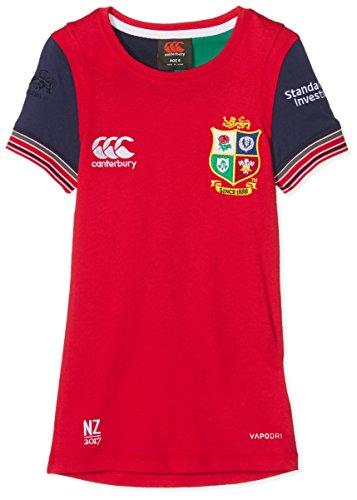 British And Irish Lions Canterbury Kids VapoDri Cotton Training T-Shirt