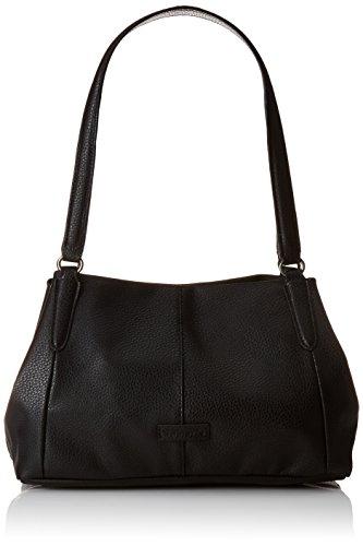 Tamaris AMAL Shoulder Bag 1028999 Damen Schultertaschen 34x28x15 cm (B x H x T), Schwarz (black 001)