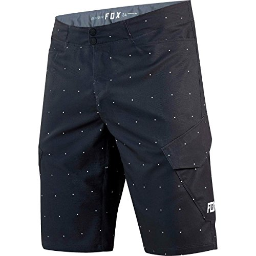 FOX Bike-Short Ranger Cargo Print Dots, Black, Größe 36