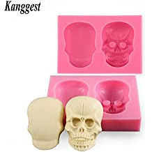 Kanggest 1 Piezas Molde de Silicona para Hornear de DIY pastel pan Chocolate gelatina pudding molde