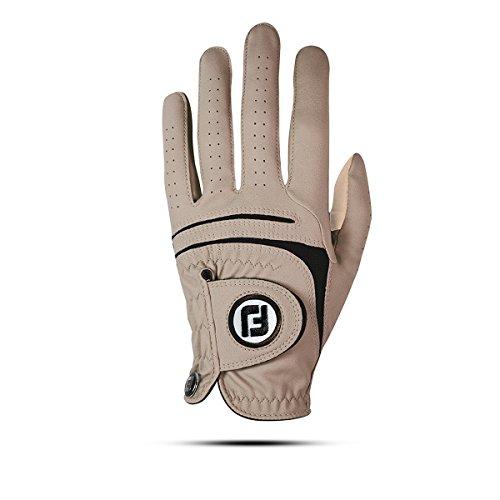 Footjoy WEATHERSOF Damen Golfhandschuh Linkshand (M, Beige)