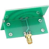 Antena helicoidal isométrica, 2.4Ghz-5.8Ghz Antena polarizada circularmente Antena UWB para transmisión y recepción de señales de radio