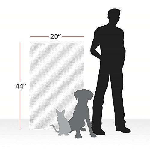 Cat Sofa Couch Protector,Tappetini tiragraffi per Gatti o Cane,Pellicola AntiGraffio per Porta,41x91cm