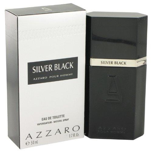 Loris Azzaro Azzaro Eau De Toilette Spray (Silver Black by Loris Azzaro Eau De Toilette Spray 1.7 oz / 50 ml for Men by Azzaro)