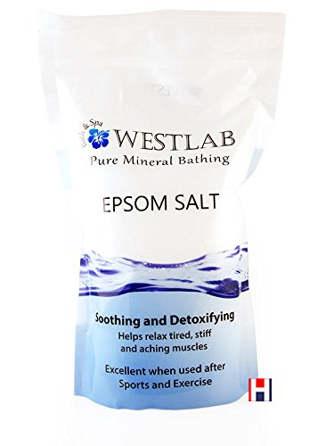 Westlab Reviving Epsom - Sale di Epsom in sacchetto verticale richiudibile 1 kg