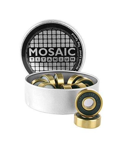 Mosaik Super Titan 1ABEC 7Skateboard/Skate/Roller Derby Kugellager X8