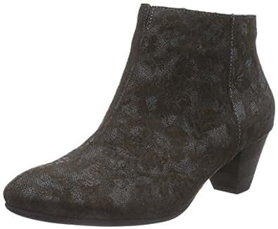 Think Damen SAMMAS_181092 Desert Boots, Schwarz (Sz/Kombi 09), 37 EU