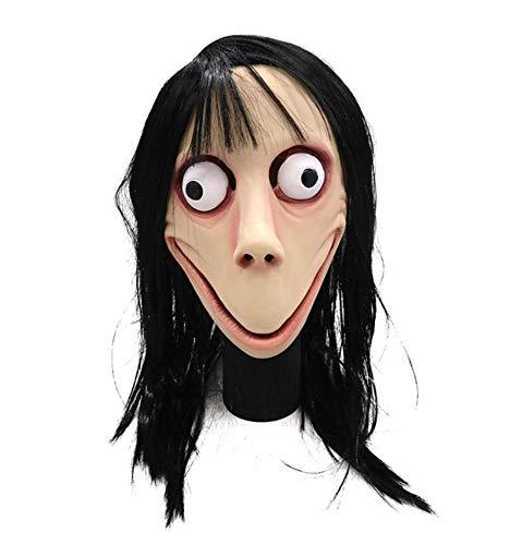 Weiblich Halloween Maske - Wqfsbd Halloween Dekoration Weibliche Ghost Scary