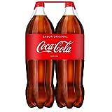 Coca-Cola - Botella de Plástico 2 litros - Pack de 3 (Total 12 litros)