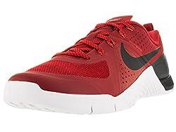 Nike Men's Metcon 1 Gym Redblkbrght Crmsnwhite Training Shoe 7 Men Us