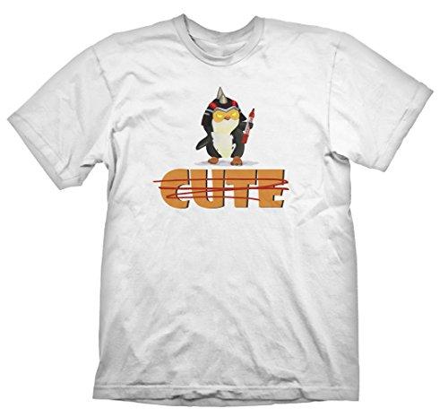 Gaya Entertainment T-Shirt Battleborn - Toby [weiß, L] [Import Allemand]