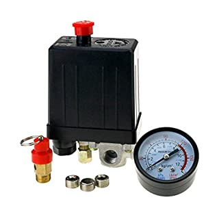 214122 ORAZIO 4 Port Single Phase Air Compressor Pressure Regulating Switch
