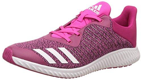 adidas Unisex-Kinder FortaRun K Laufschuhe, Pink (Bopink/Ftwwht/Shopin), 32 EU