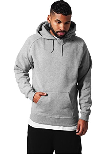 "Preisvergleich Produktbild Urban : ""Blank Hoody"" Size: L,  Color: grey ...TB014"