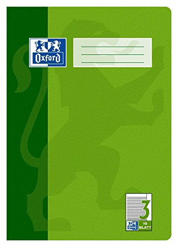 OXFORD 100050364 Schulheft Schule 15er Pack A4 16 -