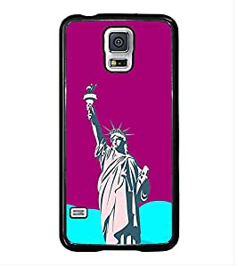 PrintVisa Designer Back Case Cover for Samsung Galaxy S5 Neo :: Samsung Galaxy S5 Neo G903F :: Samsung Galaxy S5 Neo G903W (leaf waterflower paint frame pattern)