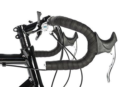 Vilano Aluminium Road Bike 21 Speed (Black, 54cm)