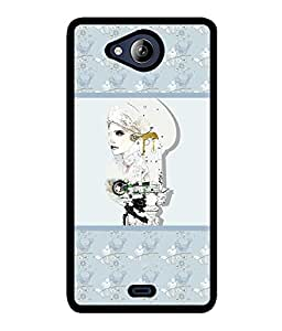Fuson 2D Printed Designer back case cover for Micromax Canvas Play Q355 - D4374