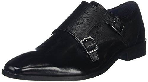KG by Kurt Geiger Brook NP, Mocassini Uomo, Black (Black), 44 EU