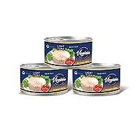 Virginia Tuna Light Meat In Water, 3 x 200 gm