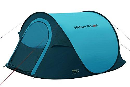 High Peak Pop Up Zelt Vision 3, Blau/Dunkelgrau, 10122 -