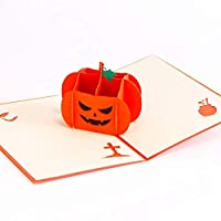 LoveAir 3D Stereo Halloween Invitation Card Creative Card for Halloween Party Invitation Funny DIY Card for Child