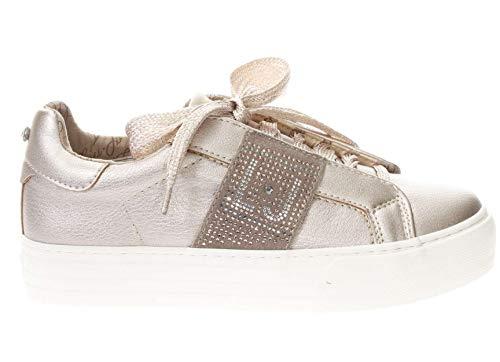 3db86c6eb3e39 LIU-JO GIRL Scarpe Sneaker Alta in Pelle Donna Cipria 35