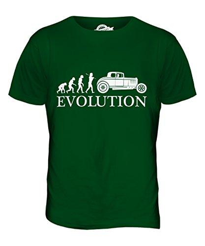 CandyMix Hot Rod Evolution Des Menschen Herren T Shirt Flaschengrün