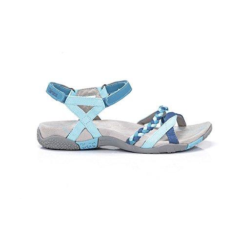 CHIRUCA Sandales de Marche Pour Femme Turquoise Bleu